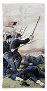 Battle Of Jonesboro, 1864 Beach Towel