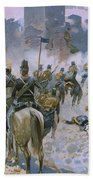 Battle Of Solferino And San Martino Beach Towel
