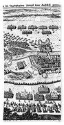 Battle Of Steinau, 1633 Beach Towel