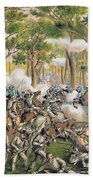 Battle Of The Wilderness May 1864 Beach Towel