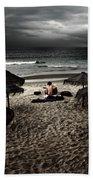 Beach Minstrel Beach Towel by Carlos Caetano