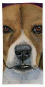 Beagle Puppy Beach Towel