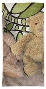 Beary Best Friends Beach Towel