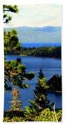 Beautiful Tahoe Beach Towel