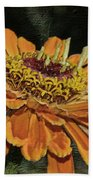 Beauty In Orange Petals Beach Towel