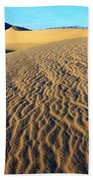 Beauty Of Death Valley Beach Towel by Bob Christopher