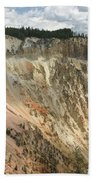 Beauty Of The Grand Canyon In Yellowstone Beach Towel