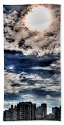 Beauty Of The Morning Sky Beach Towel