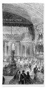 Beaux Arts Ball, 1861 Beach Towel