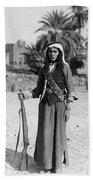 Bedouin Youth, C1926 Beach Towel