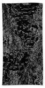 Beech Tree Digital Art Beach Towel