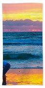 Bella At Sunrise Beach Towel