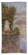Bellagio From Tremezzo Beach Towel