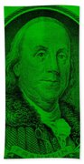 Ben Franklin Ingreen Beach Towel