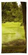 Bent Twig 5 Beach Towel