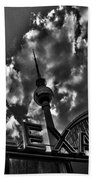 Berlin Alexanderplatz Beach Towel by Juergen Weiss