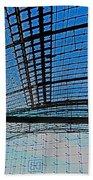 Berlin Central Station ...  Beach Towel by Juergen Weiss