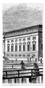 Berlin: Opera House, 1843 Beach Towel