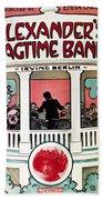 Berlin: Ragtime Band, 1911 Beach Towel