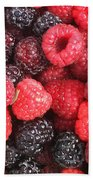 Berry Party Beach Towel