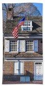 Betsy Ross House Beach Sheet
