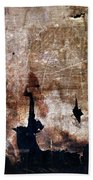 Beyond The Tattered Curtain Beach Towel by Kevyn Bashore