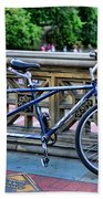Bicycle Built For Two Beach Towel