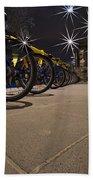 Bicycle Lane Beach Towel