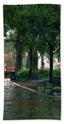 Bienville Square Beach Towel