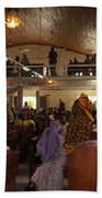 Big Nigerian Church In Lagos Beach Towel