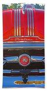 Big Red Pontiac Beach Towel