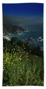 Big Sur California Beach Towel