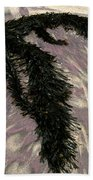 Big Sur Sand And Algae Beach Towel