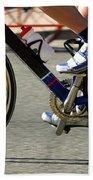 Bike Race Beach Towel