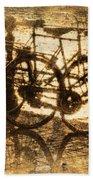 Bikes On The Canal Beach Towel