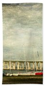 Biloxi Bay Bridge Beach Towel