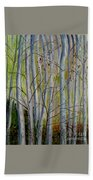 Birch Forest Beach Towel