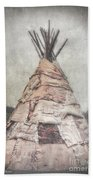 Birch Teepee Beach Towel