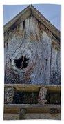 Birdhouse In Cambria Beach Towel