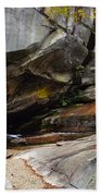 Birdrock Waterfall Beach Towel