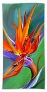 Birds Of Paradise 1 Beach Towel