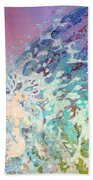 Birth Of Aphrodite From The Sea Foam Beach Towel