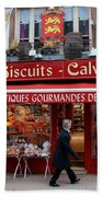 Biscuits And Calvados Beach Towel