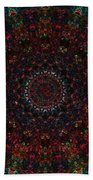 Bizzmuzz Oval Mandala Beach Towel