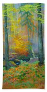 Black Forest Stream Beach Towel