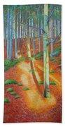 Black Forest Sunset Beach Towel
