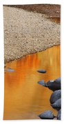 Black River Reflections At Johnsons Shut Ins State Park I Beach Towel