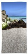 Blonde On The Beach  Beach Towel