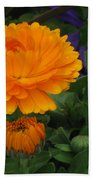 Blooming Gold Beach Towel