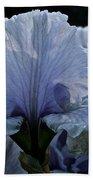 Blooming Iris Beach Towel